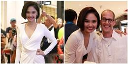 Miu Lê gây ấn tượng với báo giới Đông Nam Á tại sự kiện