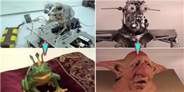 Tròn xoe mắt trước cách tạo ra sinh vật lạ trong phim bom tấn