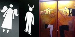 """Những biển hiệu nhà vệ sinh """"chất không đỡ nổi"""""""