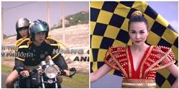 'Nghẹt thở' với màn đua xe của các thí sinh Vietnam's Next Top Model