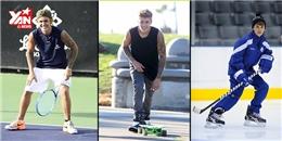 Há hốc với năng khiếu thể thao của Justin Bieber