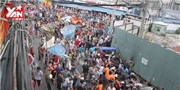 Hàng trăm người  giật cô hồn  làm náo loạn đường phố Sài Gòn