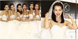 Dàn hoa đán TVB đồng loạt mặc áo cưới vì Hồ Hạnh Nhi