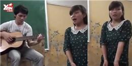 Cư dân mạng 'phát sốt' với cô giáo có giọng hát hay như Bích Phương