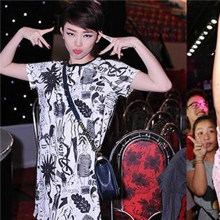 Tóc Tiên - thần tượng khiến fan mê mệt vì đẹp trai và quyến rũ