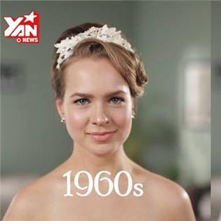 Cô dâu cách đây 50 năm trông như thế nào?