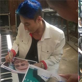 Sơn Tùng M-TP khoe tóc xanh cực bảnh, tiết lộ về MV mới