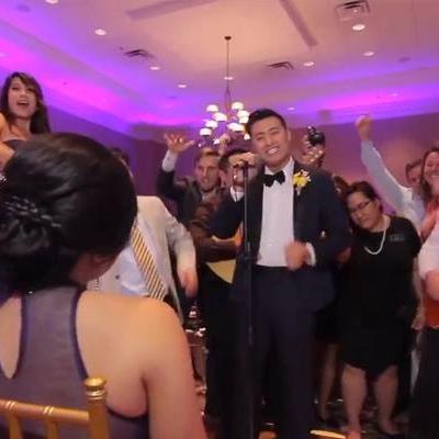 Cô dâu chú rể chịu chơi quay MV cưới siêu đáng yêu