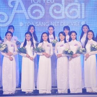 Lung linh sắc áo dài đêm chung kết Miss Áo dài nữ sinh VN 2015