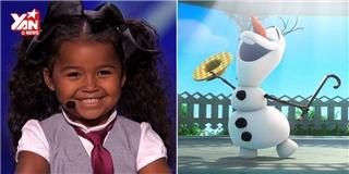 Trình diễn nhạc phim Disney, bé gái 5 tuổi khiến khán giả  chết mê
