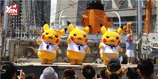 Binh đoàn  pikachu tiếp tục khiến cộng đồng mạng  phát sốt