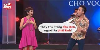 Trấn Thành khiến Thu Trang hoang mang khi cover hit của... Isaac