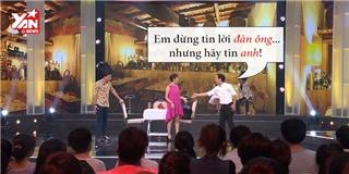 Trường Giang bảnh bao quyến rũ Thu Trang
