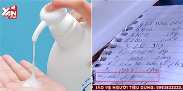 Sự thật kinh hoàng về công nghệ làm sữa tắm dê giả