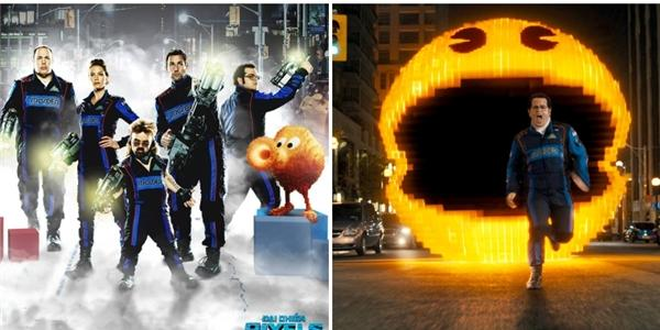 Một loạt  cây hài  Hollywood biến hóa thành game thủ trong  Đại chiến Pixels