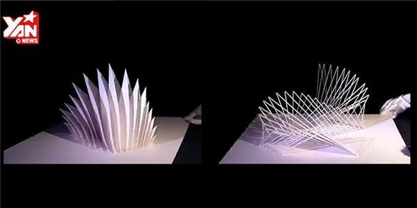Hoa mắt  với nghệ thuật xếp giấy như thật của người Nhật