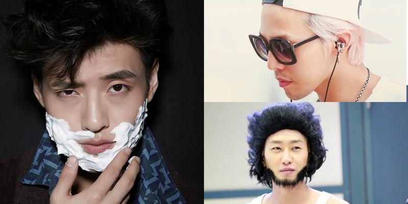 Khi mĩ nam Kpop đo độ nam tính với ria mép độc và lạ