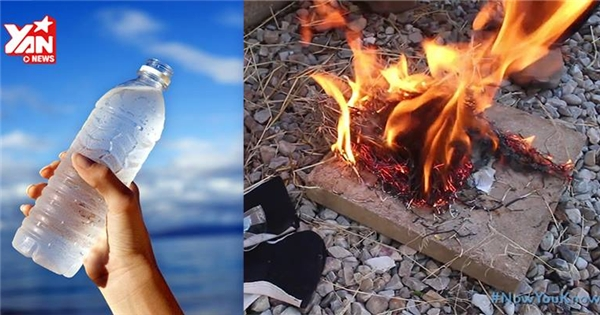 Độc đáo cách tạo ra lửa từ... nước