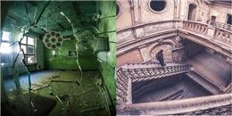Ám ảnh bởi vẻ ma mị bên trong những nhà thờ bỏ hoang