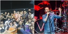 Fan Việt phát cuồng, 'gây bão' vì Maroon 5 ở Thái Lan