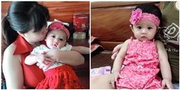 Ngắm bé gái xinh như thiên thần của bà mẹ hiếm muộn 7 năm