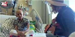 Rơi nước mắt với giọng hát trong trẻo của cô bé bệnh ung thư