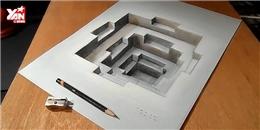 Tròn mắt với hình vẽ 3D hết sức 'ảo diệu'