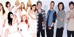 One Direction và SNSD tiếp tục thành công hay 'hết thời'?