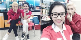 Bạn gái 'tố' Sơn Tùng 'nói xấu' ông bầu Quang Huy