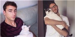 Bác sĩ điển trai và nàng mèo xinh đẹp khiến dân mạng phải 'chao đảo'
