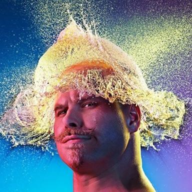 Những kiểu tóc giả bằng nước  độc nhất vô nhị