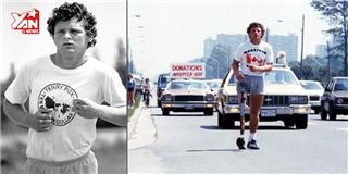 Thán phục chàng trai ung thư chạy 5000 km quyên tiền từ thiện