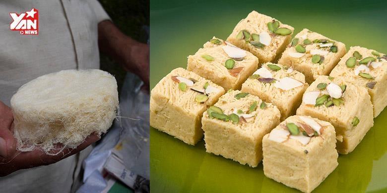 Tròn mắt với cách chế biến kẹo kéo  siêu độc  của người Ấn Độ