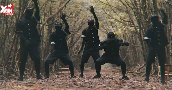 Choáng với màn vũ đạo trong rừng cực đẹp của nhóm HFO