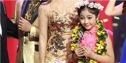 'Công chúa tóc mây' Hồng Minh đăng quang Giọng hát Việt nhí 2015