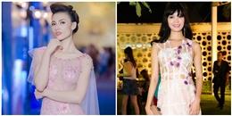 Mĩ nhân Việt đọ vẻ gợi cảm trong trang phục xuyên thấu