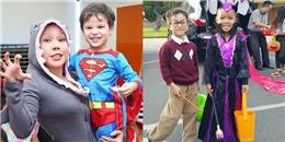 Việt Hương hí hửng khoe ảnh 'cục cưng' vui Halloween ở Mỹ