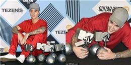 Vượt mặt Taylor Swift, Justin Bieber thống trị giải MTV EMAs 2015