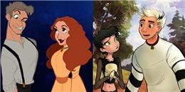 Trố mắt với màn hóa người của các thú cưng Disney