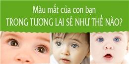 Trong tương lai, màu mắt con bạn sẽ như thế nào?