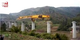 Cách Trung Quốc xây đường sắt trên cao