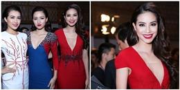 Hoa hậu Phạm Hương lấn át dàn mĩ nhân trên thảm đỏ