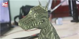 Bật mí cách làm rồng giấy 3D 'ảo tung chảo'