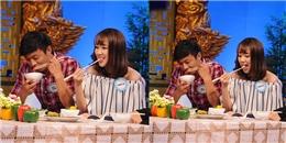 Vắng Lê Phương, Quý Bình vui vẻ ăn uống cùng Băng Di
