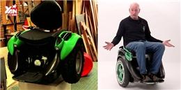 Chế tạo thành công xe lăn điện hiện đại nhất thế giới
