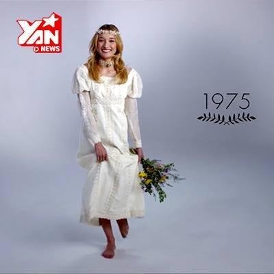 100 năm qua, cô dâu mặc gì trong ngày trọng đại?