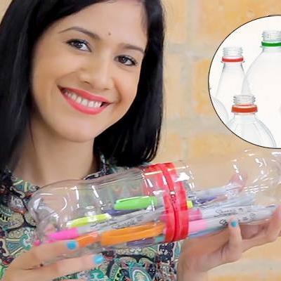 1001 cách tận dụng triệt để những chai nhựa cũ