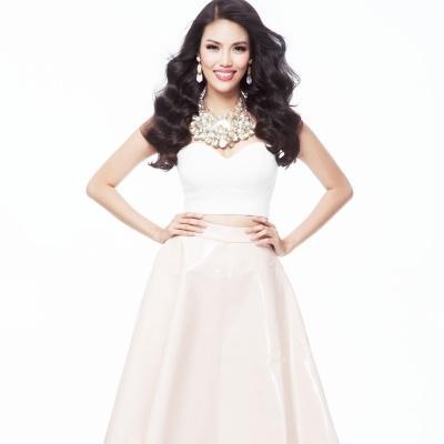 Lan Khuê tự tin đánh bật dàn mĩ nhân Miss World 2015