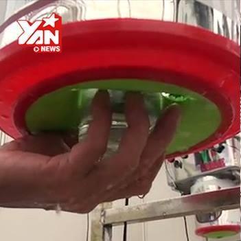 Cận cảnh máy rửa 1.000 li mỗi giờ do người Việt sáng chế