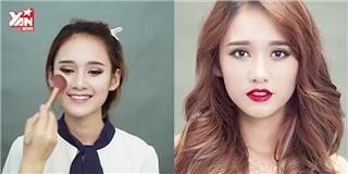 Bí quyết trang điểm nổi bật như hoa hậu Phạm Hương